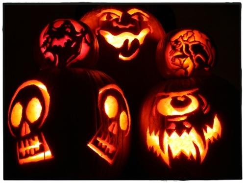 Halloween 2Dpumpkins rev